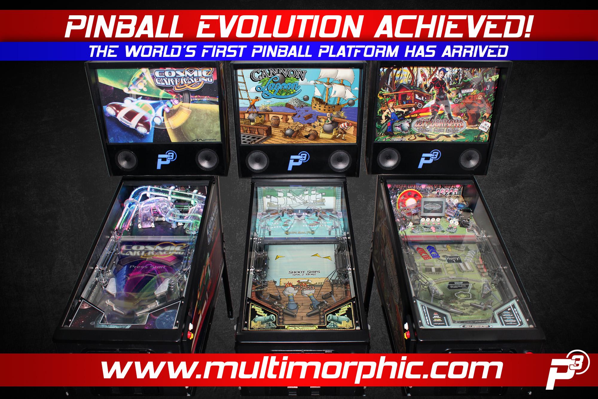 Pinball Evolution Achieved! - Multimorphic, Inc